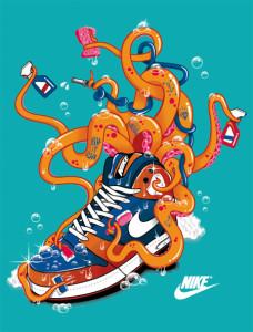 "RUBENS CANTUNI ""Nike Octopus"""