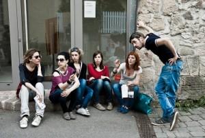 Delegazione italiana alla Kunststrasse 2012